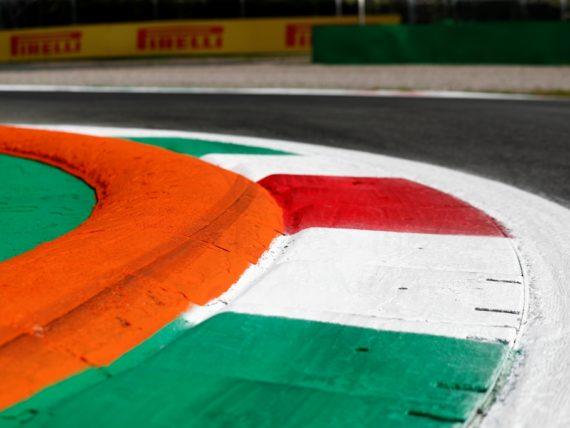 Монца, Гран при на Италия, писта