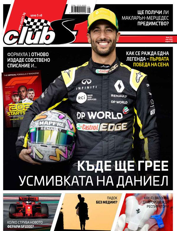 сп. ClubS1, брой 237/май 2020