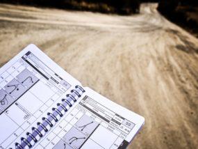 WRC, бележки, навигатор