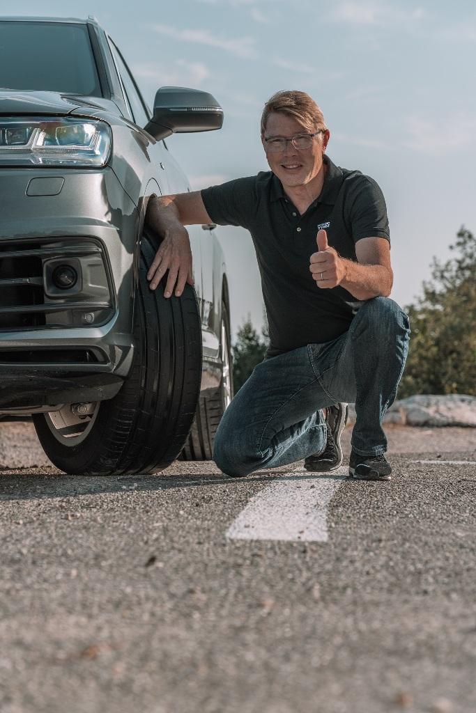 Nokian Tyres, гуми, Мика Хакинен