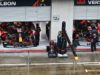 Ред Бул, сесия, дъжд