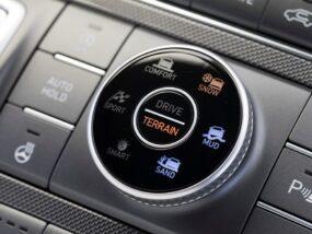 Hyundai Santa Fe Terrain Mode Selector