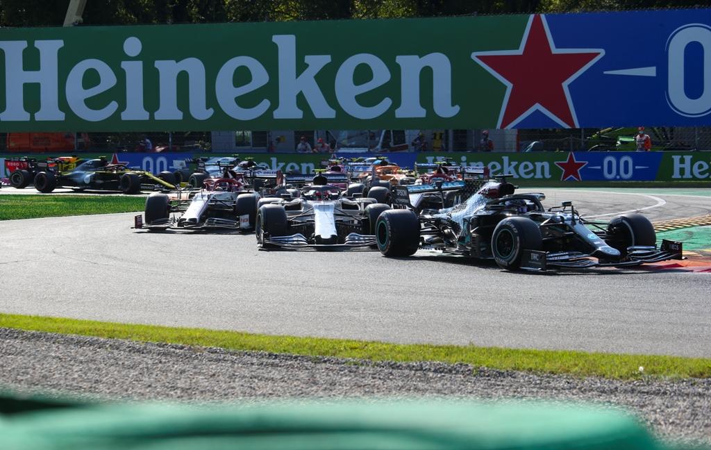 2020, Гран при на Италия, Монца, Люис Хамилтън, Пиер Гасли