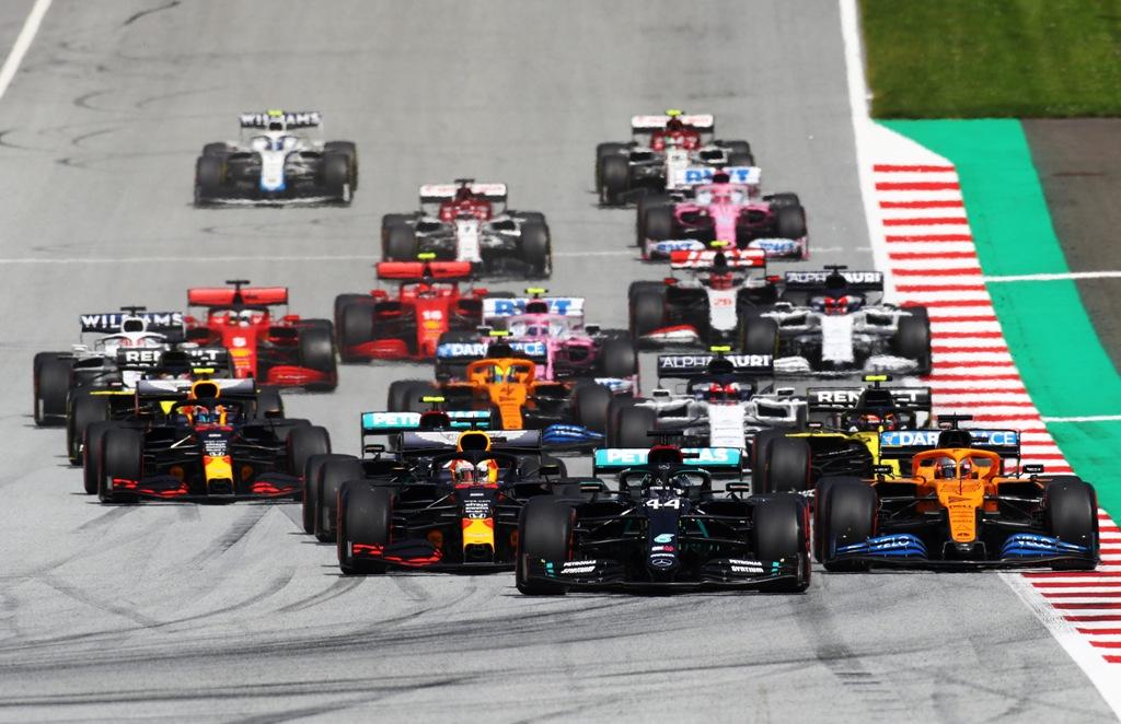 старт, Формула 1, F1