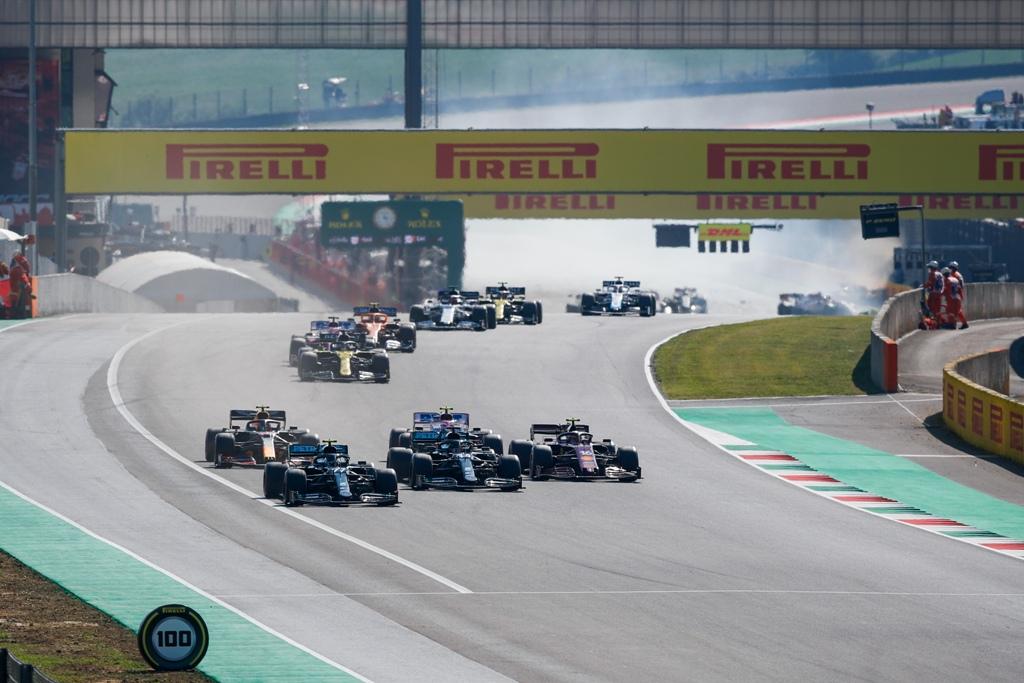 Гран при на Тоскана, старт, катастрофа, Муджело, Формула 1, F1