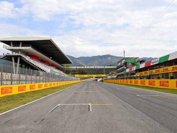 Гран при на Тоскана, Муджело, Формула 1, F1, грид, стартова решетка