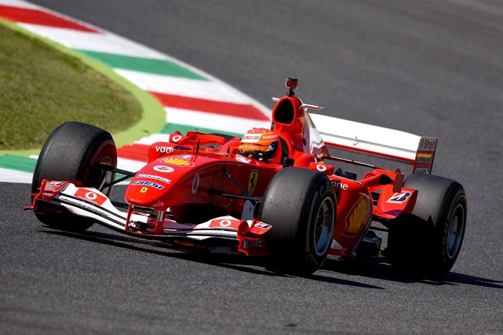 Мик Шумахер, Ферари F2004