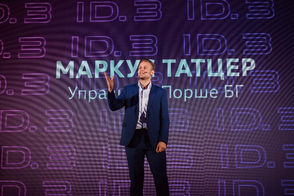 Маркус Татцер, управител на Порше БГ