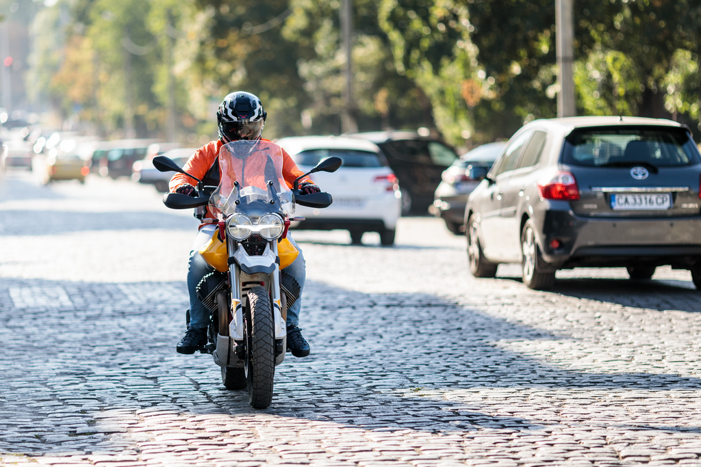 Moto Guzzi V85 TT, снимка Георги Павлов
