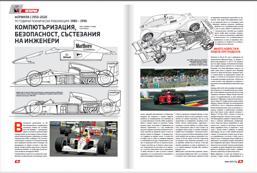 История на Формула 1