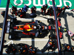 Red Bull Pit Stops