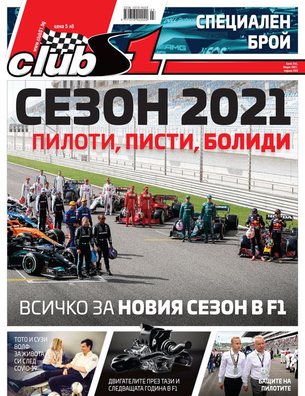 ClubS1, брой 244