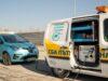 Първата мобилна зарядна станция в България