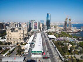Формула 1, F1, Гран при на Азербайджан, Баку, Мерцедес