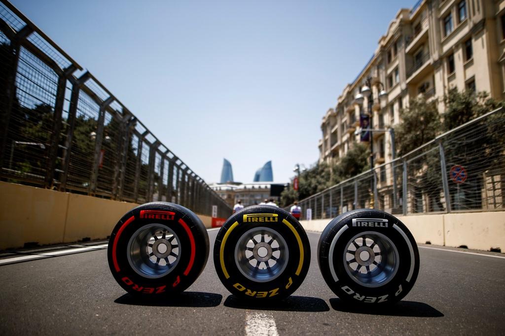 Пирели, гуми, Баку, Гран при на Азербайджан