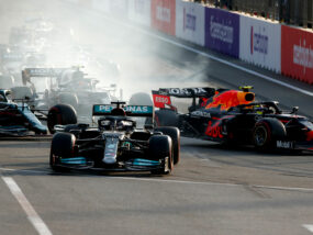Хамилтън, Гран при на Азербайджан 2021