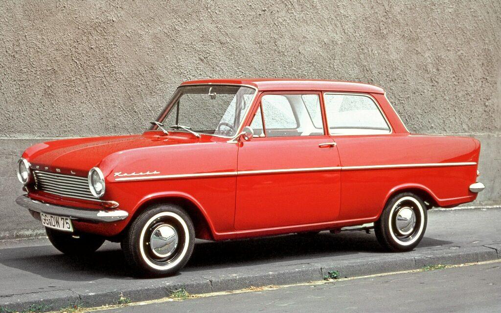Opel Kadett A, 1962