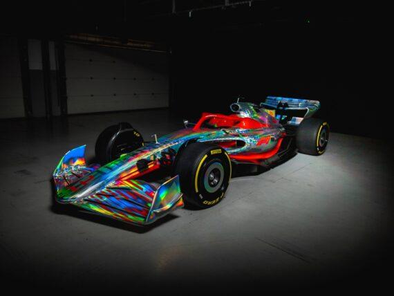 F1 car 2022