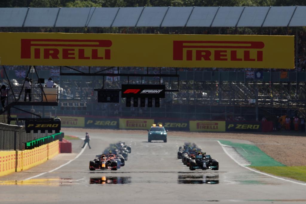 старт, спринт, стартова решетка, грид, Гран при на Великобритания, Силвърстоун