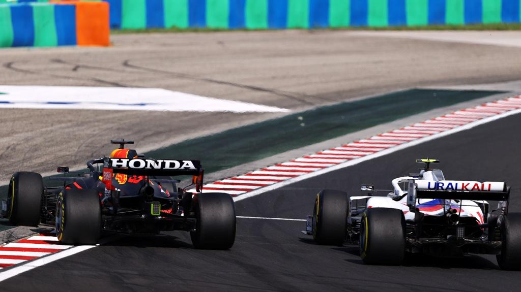 Макс Верстапен и Мик Шумахер, Гран при на Унгария 2021