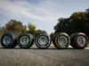 Гумите на Монца; Снимка: Пирели