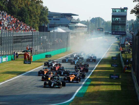 старт, спринт, Формула 1, F1, Гран при на Италия, Монца