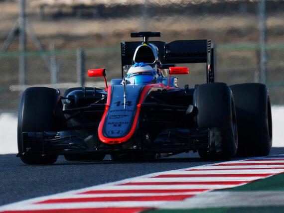 Фернандо Алонсо, McLaren 2015