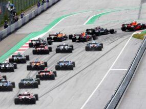 Формула 1, F1, старт